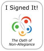 Oath of Non-Allegiance